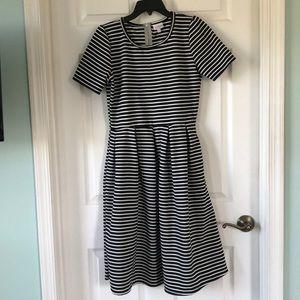 Black & White Striped Amelia